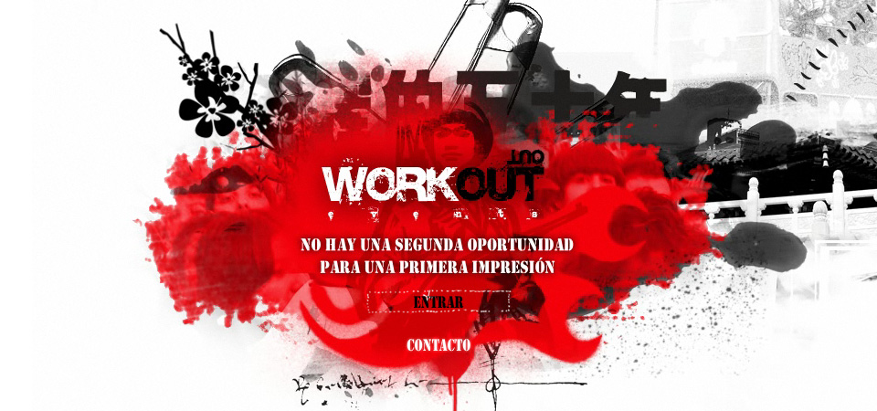 Web corporativa Workout en www.e-crealia.com
